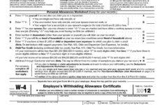 Form W 4 Wikipedia
