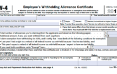W 4 Form IRS How To Fill It Out Definitive Guide