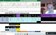 Alabama State Tax Withholding In Excel Payroll 2020 YouTube