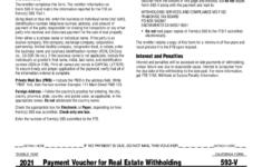 CA FTB 593 V 2021 Fill Out Tax Template Online US