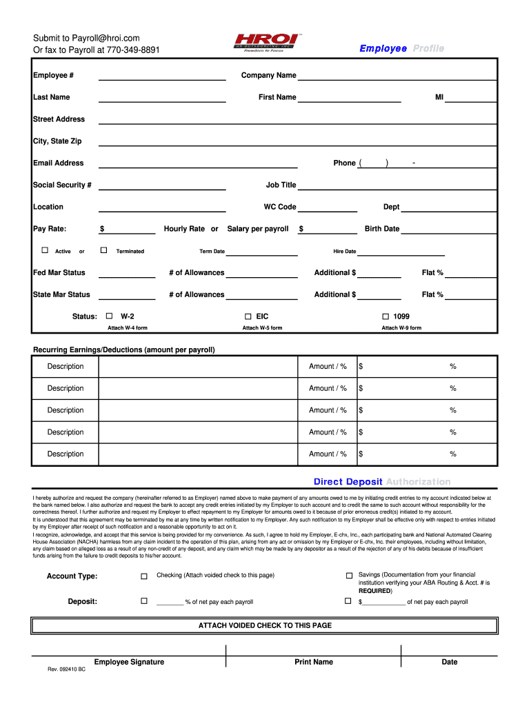New Hire Colorado Tax Forms