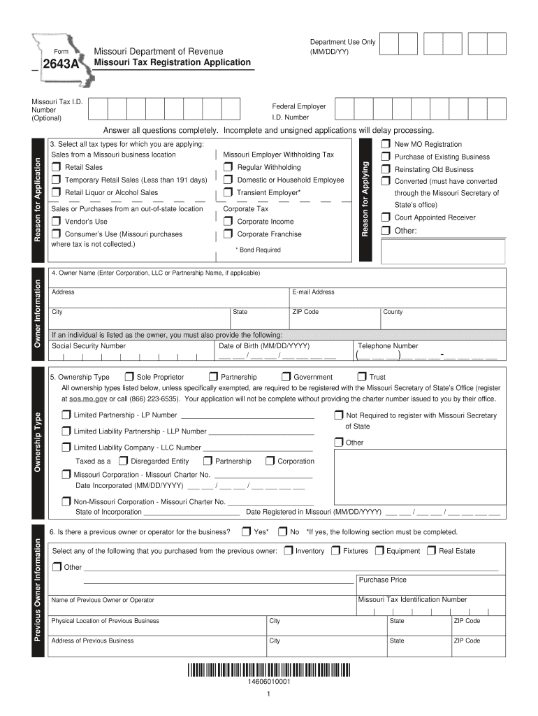 Missouri State Withholding 2021 Form