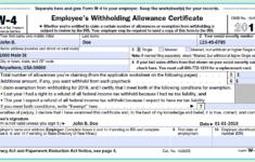 Il W 4 2020 W4 2020 Form Printable