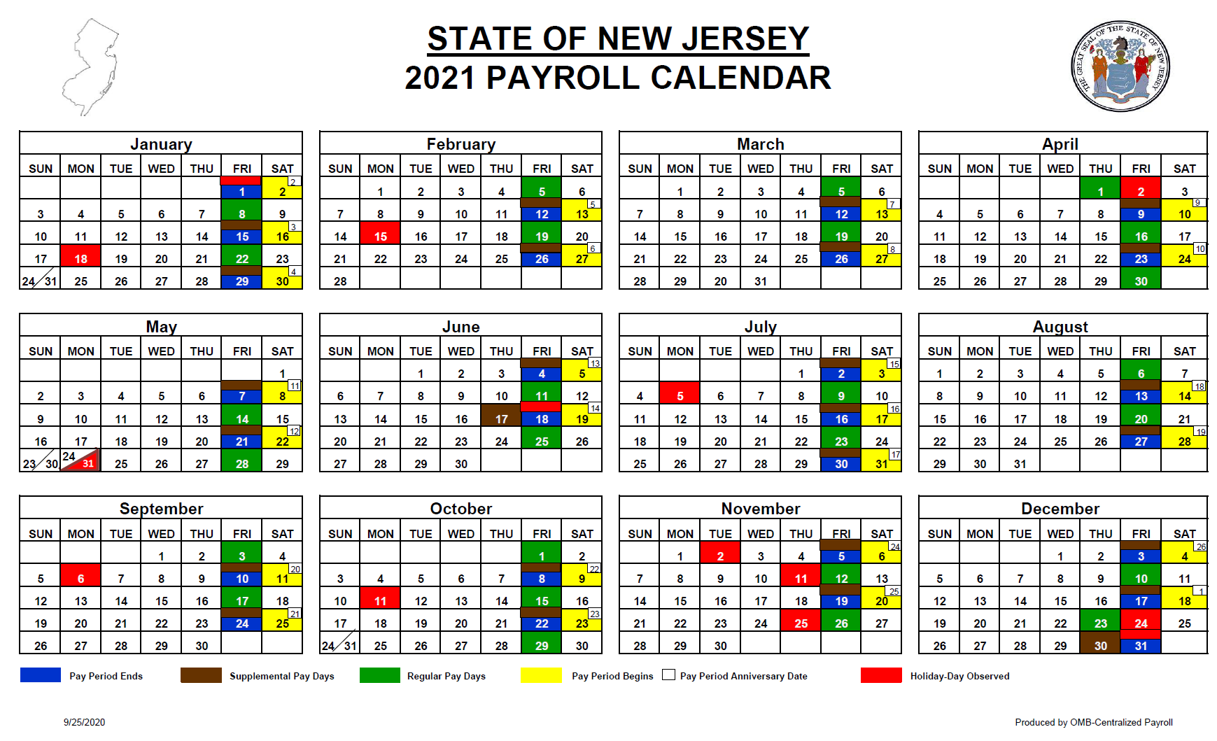 New Jersey State Withholding 2021