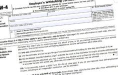 W4 Forms 2021 Printable PDF