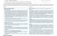 Wisconsin Form WT 4 Printable Employee S Withholding